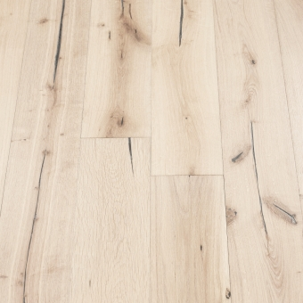 Alpine Distressed - 190mm x 18/3mm x Random Lengths Brush & UV Oiled Engineered Wood Flooring