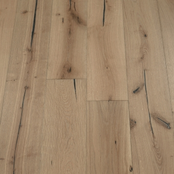Ash Distressed - 190mm x 18/3mm x Random Lengths Brush & UV Oiled Engineered Wood Flooring