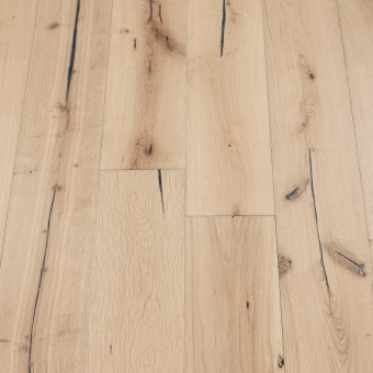 Coral Distressed - 190mm x 18/3mm x Random Lengths Brush & UV Oiled Engineered Wood Flooring