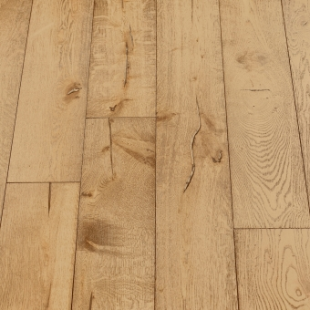 Environment Distressed - 190mm x 18/3mm x Random Lengths Brush & UV Oiled Engineered Wood Flooring