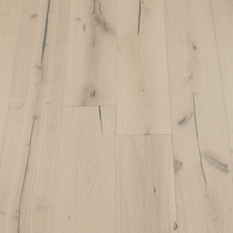 Glacier Distressed - 190mm x 18/3mm x Random Lengths Brush & UV Oiled Engineered Wood Flooring