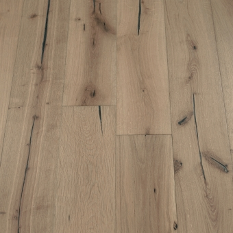 Iron Distressed -190mm x 18/3mm x Random Lengths Brush & UV Oiled Engineered Wood Flooring