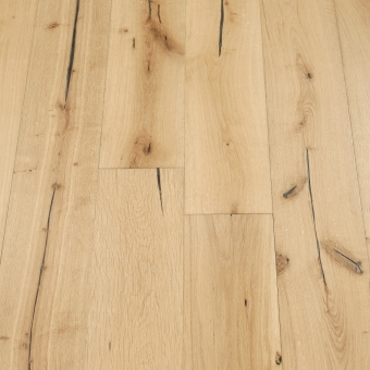 Satin 5% Distressed -190mm x 18/3mm x Random Lengths Brush & UV Oiled Engineered Wood Flooring