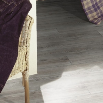 Highland Oak Silver 12mm Kronotex Mammut Laminate Flooring