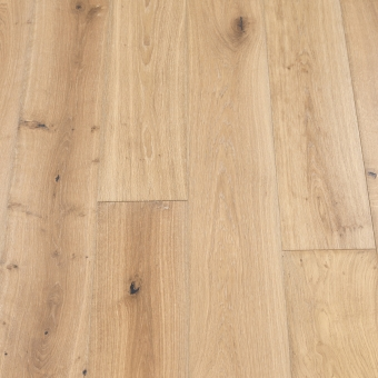Classic Plus Champagne - 190mm x 18/4mm x 1900mm Rustic Grade Brush & UV Oiled Engineered Wood Flooring
