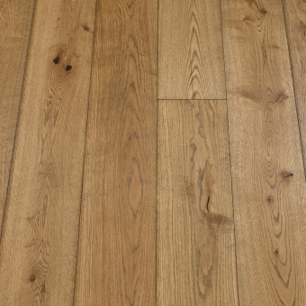 Classic Coyote - 190mm x 14/3mm x 1900mm Rustic Grade Brush & UV Oiled Click Engineered Wood Flooring