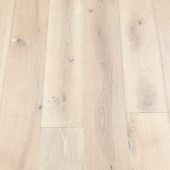 Classic Alpine - 190mm x 14/3mm x 1900mm Rustic Grade Brush & UV Oiled Click Engineered Wood Flooring