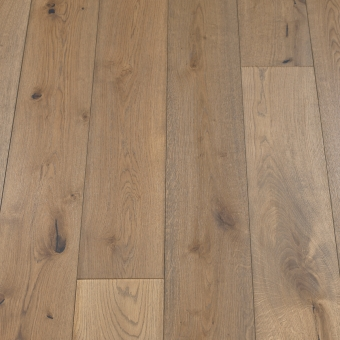 Classic Ash - 190mm x 14/3mm x 1900mm Rustic Grade Brush & UV Oiled Click Engineered Wood Flooring