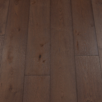 Classic Bark - 190mm x 14/3mm x 1900mm Rustic Grade Brush & UV Oiled Click Engineered Wood Flooring
