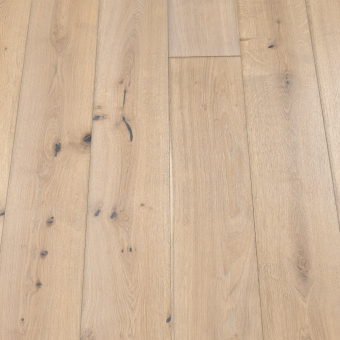 Classic Coral - 190mm x 14/3mm x 1900mm Rustic Grade Brush & UV Oiled Engineered Click Wood Flooring