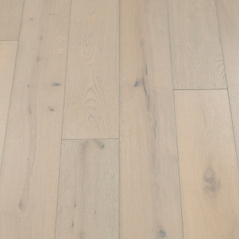 Classic Glacier - 190mm x 14/3mm x 1900mm Rustic Grade Brush & UV Oiled Click Engineered Wood Flooring
