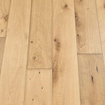 Classic Plus Linen 5% - 190mm x 18/4mm x 1900mm Rustic Grade Brush & UV Oiled Engineered Wood Flooring