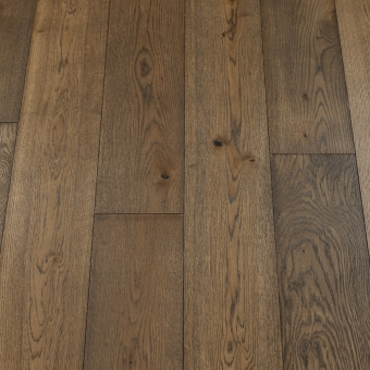 Classic Mocha - 190mm x 14/3mm x 1900mm Rustic Grade Brush & UV Oiled Click Engineered Wood Flooring