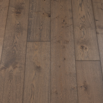 Classic Nordic - 190mm x 14/3mm x 1900mm Rustic Grade Brush & UV Oiled Click Engineered Wood Flooring