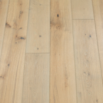 Classic Pebble - 190mm x 14/3mm x 1900mm Rustic Grade Brush & UV Oiled Click Engineered Wood Flooring