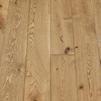 Classic Pyrite - 190mm x 14/3mm x 1900mm Rustic Grade Brush & UV Oiled Click Engineered Wood Flooring