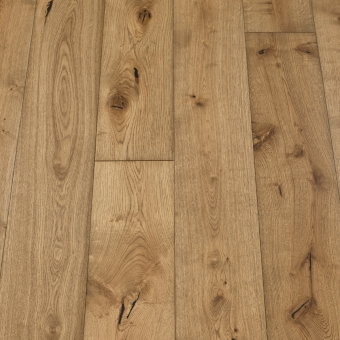 Classic Saffron - 190mm x 14/3mm x 1900mm Rustic Grade Brush & UV Oiled Click Engineered Wood Flooring