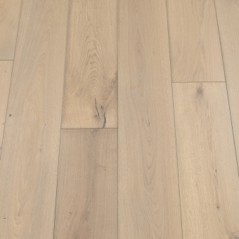 Classic Sand - 190mm x 14/3mm x 1900mm Rustic Grade Brush & UV Oiled Click Engineered Wood Flooring