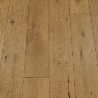 Classic Sepia - 190mm x 14/3mm x 1900mm Rustic Grade Brush & UV Oiled Click Engineered Wood Flooring