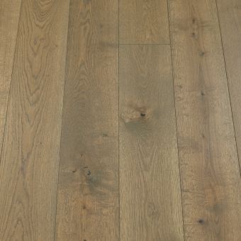 Classic Silk - 190mm x 14/3mm x 1900mm Rustic Grade Brush & UV Oiled Click Engineered Wood Flooring