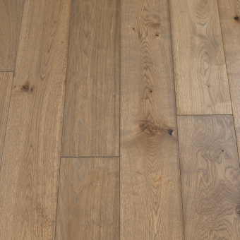 Classic Slate - 190mm x 14/3mm x 1900mm Rustic Grade Brush & UV Oiled Click Engineered Wood Flooring
