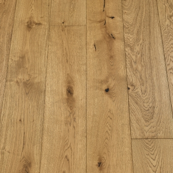 Classic Smoked - 190mm x 14/3mm x 1900mm Rustic Grade Brush & UV Oiled Engineered Wood Flooring
