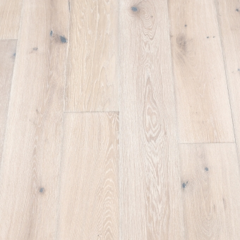 Classic Plus Snow - 190mm x 18/4mm x 1900mm Rustic Grade Brush & UV Oiled Engineered Wood Flooring