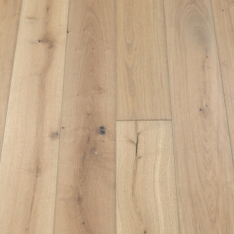 Classic Titanium -190mm x 14/3mm x 1900mm Rustic Grade Brush & UV Oiled Click Engineered Wood Flooring