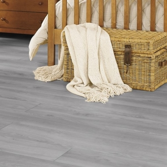 Premium Oak Grey 12mm Kronotex Robusto Laminate Flooring