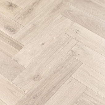 Alpine Herringbone XL Engineered 150mm x 14/3mm x 600mm Rustic Grade Brush & UV Oiled Wood Flooring