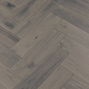 Boulder Herringbone XL Engineered 150mm x 14/3mm x 600mm Rustic Grade Brush & UV Oiled Wood Flooring