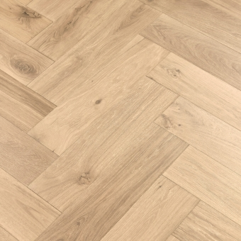 Champagne Herringbone XL Engineered 150mm x 14/3mm x 600mm Rustic Grade Brush & UV Oiled Wood Flooring