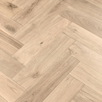 Coral Herringbone XL Engineered 150mm x 14/3mm x 600mm Rustic Grade Brush & UV Oiled Wood Flooring