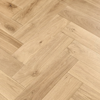 Dough Herringbone XL Engineered 150mm x 14/3mm x 600mm Rustic Grade Brush & UV Oiled Wood Flooring