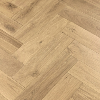Environment Herringbone XL Engineered 150mm x 14/3mm x 600mm Rustic Grade Brush & UV Oiled Wood Flooring