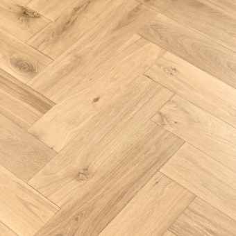 Linen 5% Herringbone XL Engineered 150mm x 14/3mm x 600mm Rustic Grade Brush & UV Oiled Wood Flooring