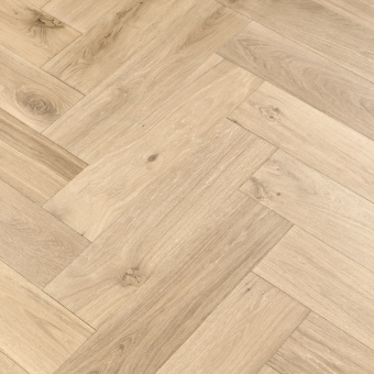Linen Herringbone XL Engineered 150mm x 14/3mm x 600mm Rustic Grade Brush & UV Oiled Wood Flooring