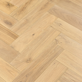 Mist Herringbone XL Engineered 150mm x 14/3mm x 600mm Rustic Grade Brush & UV Oiled Wood Flooring