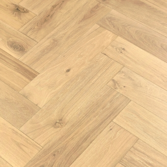 Satin 5% Herringbone XL Engineered 150mm x 14/3mm x 600mm Rustic Grade Brush & UV Oiled Wood Flooring
