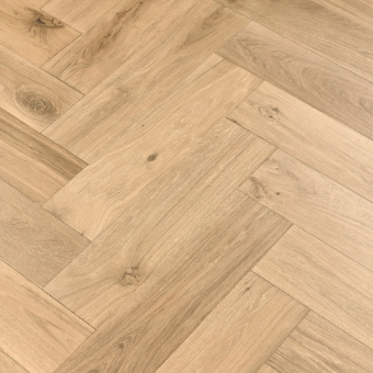 Shandy Herringbone XL Engineered 150mm x 14/3mm x 600mm Rustic Grade Brush & UV Oiled Wood Flooring