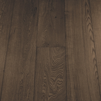 Select Black Olive - 235mm x 18/3mm x 1900mm Select & Better Grade Engineered Brush & UV Oiled Wood Flooring