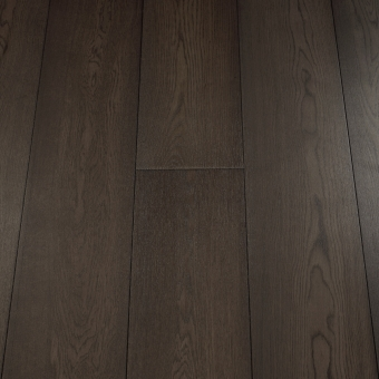 Select Carbon - 235mm x 18/3mm x 1900mm Select & Better Grade Engineered Brush & UV Oiled Wood Flooring