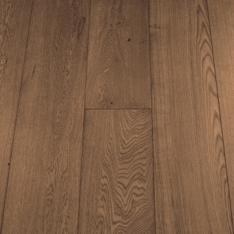 Select Coffee - 235mm x 18/3mm x 1900mm Select & Better Grade Engineered Brush & UV Oiled Wood Flooring