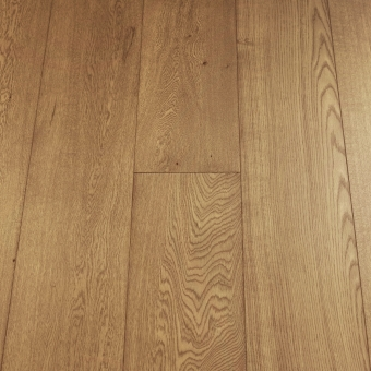 Select Coyote - 235mm x 18/3mm x 1900mm Select & Better Grade Engineered Brush & UV Oiled Wood Flooring