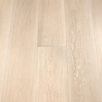 Select Ivory - 235mm x 18/3mm x 1900mm Select & Better Grade Engineered Brush & UV Oiled Wood Flooring