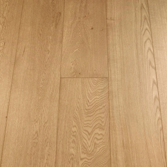 Select Natural - 235mm x 18/3mm x 1900mm Select & Better Grade Engineered Brush & UV Oiled Wood Flooring