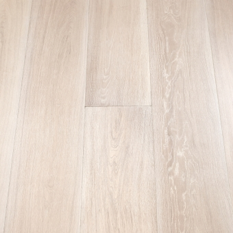 Select Snow - 235mm x 18/3mm x 1900mm Select & Better Grade Engineered Brush & UV Oiled Wood Flooring