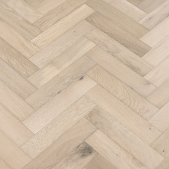 Granite Herringbone - 90mm x 14/3mm x 400mm Rustic Grade Brush & UV Oiled Engineered Wood Flooring