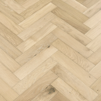 Pebble Herringbone - 90mm x 14/3mm x 400mm Rustic Grade Brush & UV Oiled Engineered Wood Flooring