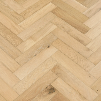Satin 5% Herringbone - 90mm x 14/3mm x 400mm Rustic Grade Brush & UV Oiled Engineered Wood Flooring